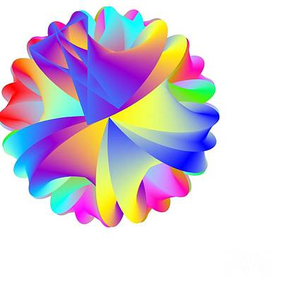 Rainbow Cluster Art Print by Michael Skinner