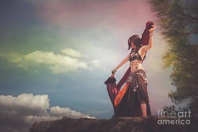 Photograph - Rainbow Dance by Scott Sawyer