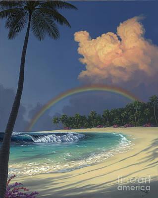 No People Painting - Rainbow Deams by Al Hogue