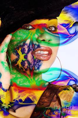 Digital Art - Rainbow Diva by Clayton Bruster