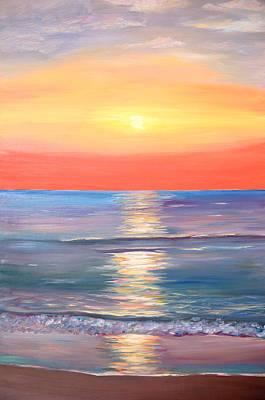 Mixed Media - Rainbow Dreams by Elizabeth Lock