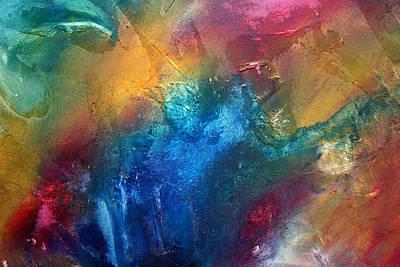 Rainbow Dreams II By Madart Print by Megan Duncanson