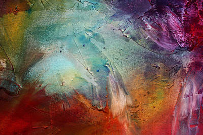 Rainbow Dreams IIi By Madart Art Print by Megan Duncanson