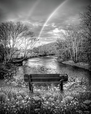 Photograph - Rainbow Dreams In Black And White by Debra and Dave Vanderlaan