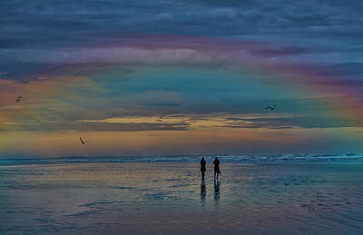 Photograph - Rainbow Duo by Bill Posner