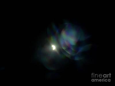 Photograph - Rainbow Eclipse 2 by Angela J Wright