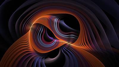 Digital Art - Rainbow Exchange by Doug Morgan