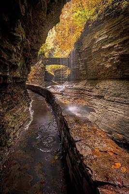 Photograph - Rainbow Falls 2 by Michael Donahue