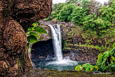 Photograph - Rainbow Falls by Christopher Holmes