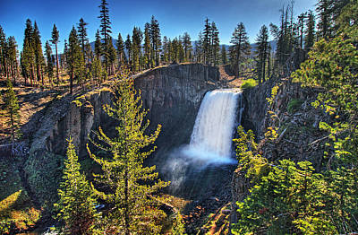 Photograph - Rainbow Falls In John Muir Wilderness by Nathaniel Grant