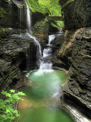 Glen Photograph - Rainbow Falls by Lori Deiter