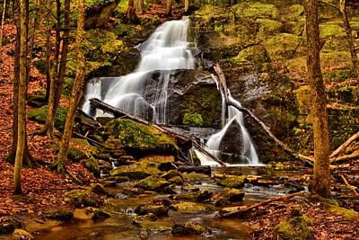 Photograph - Rainbow Falls Watler Newton Area by Naturally NH