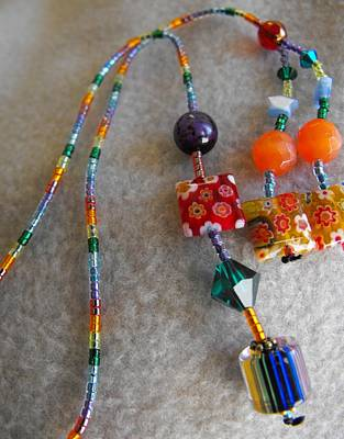 Delica Beads Jewelry - Rainbow Fiori by Rhiannon Strickler