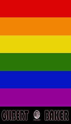 Photograph - Rainbow Flag 1 by Andrew Fare
