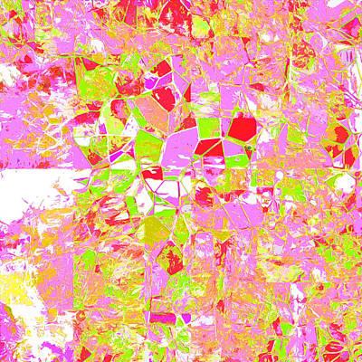 Digital Art - Rainbow Four by Payet Emmanuel