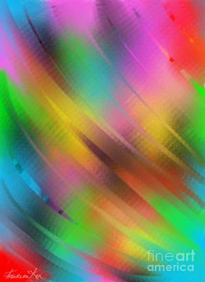 Painting - Rainbow by Frances Ku