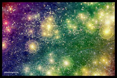 Photograph - Rainbow Galaxy Bubbles by LeeAnn McLaneGoetz McLaneGoetzStudioLLCcom