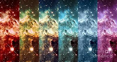 Fantasy Photograph - Rainbow Galaxy by Johari Smith
