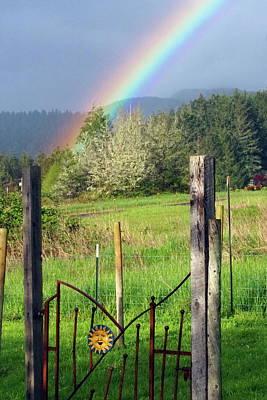 Photograph - Rainbow Gate by Ben Upham III
