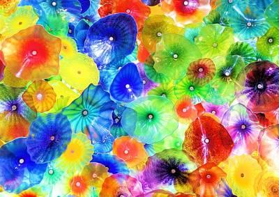 Rainbow Glass Art Print