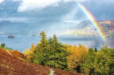 Rainbow Gold Art Print