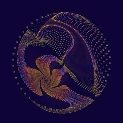 Digital Art - Rainbow Harpsichord by Doug Morgan