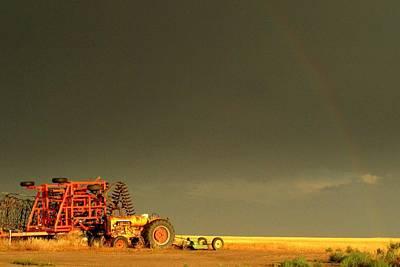 Rainbow Harvest.. Art Print by Al  Swasey