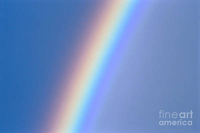Photograph - Rainbow In Gray Skies by Mary Van de Ven - Printscapes