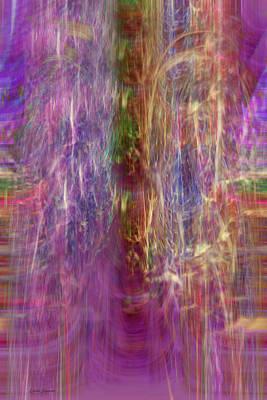 Rainbow In The Dark Art Print by Linda Sannuti