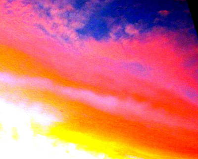 Photograph - Rainbow In The Sky by Joyce Woodhouse
