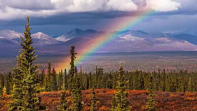Rainbow Art Print by Joanie Havenner