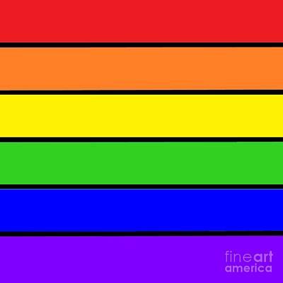 Rainbow Art Print by Johari Smith