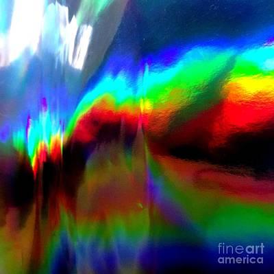 Photograph - Rainbow Surprise by Karen Jane Jones