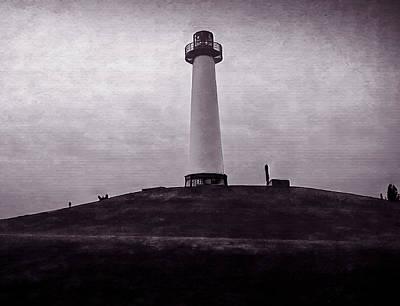 Mixed Media - Rainbow Lighthouse by Joseph Hollingsworth
