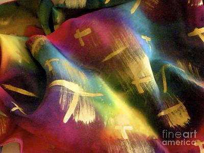 Rainbow Lights Art Print by Joanna White