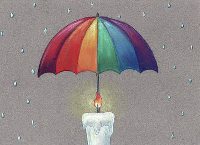Pastel - Rainbow Love by Athena Lutton