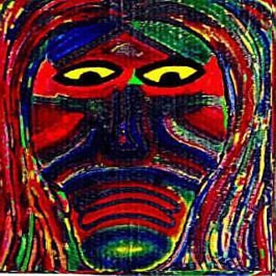 Painting - Rainbow Man by Michael Puleo
