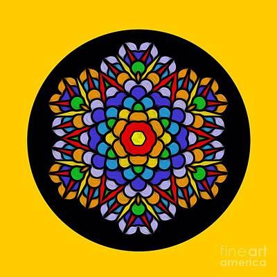 Photograph - Rainbow Mandala By Kaye Menner by Kaye Menner