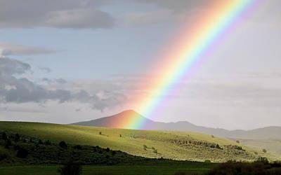 Sunset Digital Art - Rainbow by Maye Loeser