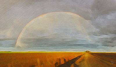 Boonies Painting - Rainbow  by Michael Fusaro
