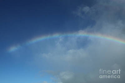 Photograph - Rainbow Morning Sunrise Maui Hawaii by Sharon Mau