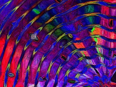 Photograph - Rainbow Mosaic by Carolyn Jacob