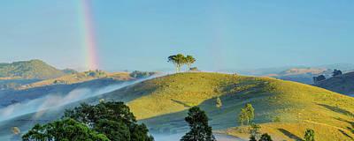 Country Scenes Photograph - Rainbow Mountain by Az Jackson