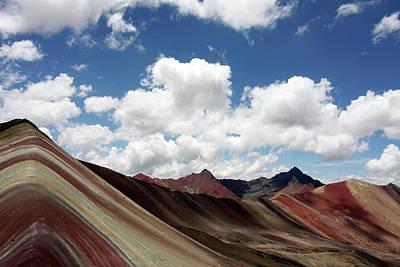 Photograph - Rainbow Mountain Range, Peru by Aidan Moran