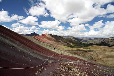 Photograph - Rainbow Mountains, Cusco, Peru by Aidan Moran