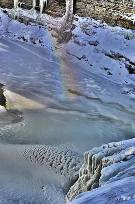Photograph - Rainbow N Ice by Emily Stauring