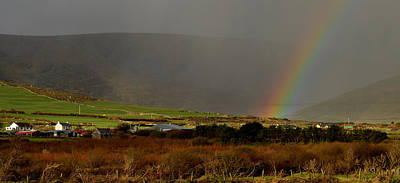 Photograph - Rainbow Near Dingle by Barbara Walsh
