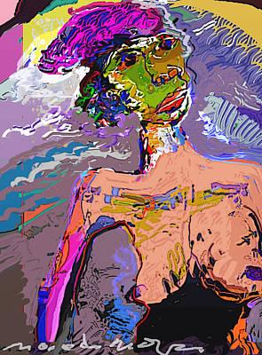 Rainbow Art Print by Noredin Morgan