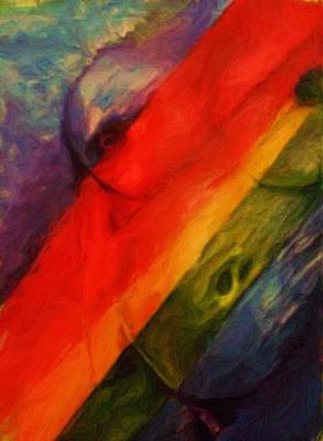 Painting - Rainbow Nude by Shelley Bain