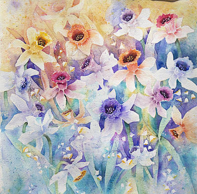 Painting - Rainbow Of Color by Lisa Vincent